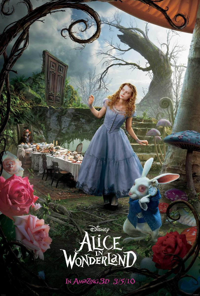 CINE. Alice in Wonderland. Tim Burton