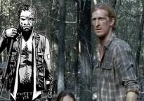 Aparece un nuevo personaje: Dwight, cómic frente tv