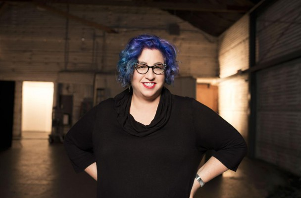 Television writer, Jenji Kohan- creator of Orange is the New Black- photographed in February 2014.  Photo Credit: Andrew Macpherson for Netflix