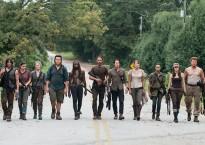 El grupo de supervivientes de The Walking Dead
