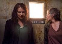 Maggie y Carol en un fotograma del capítulo