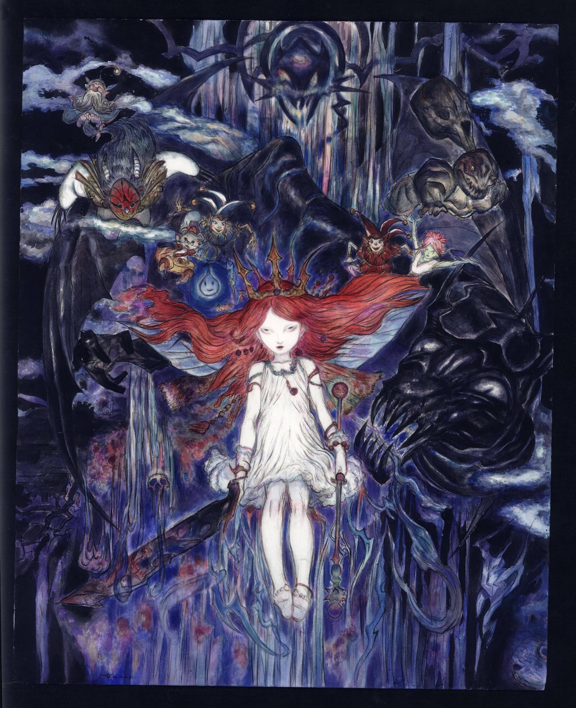 Arte de Yoshitaka Amano para Child of Light
