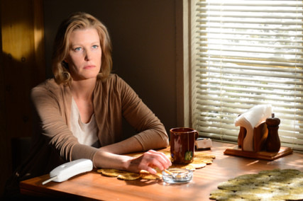 (RNS1-oct4) Skyler White (Anna Gunn) in a scene from Breaking Bad's final episode, which aired last Sunday (Sept.29). For use with RNS-BREAK-BAD, transmitted on October 4, 2013, Photo courtesy Ursula Coyote/AMC.
