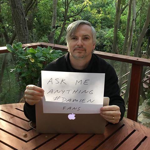 Glen Mazzara productor ejecutivo Damien contestando a los fans