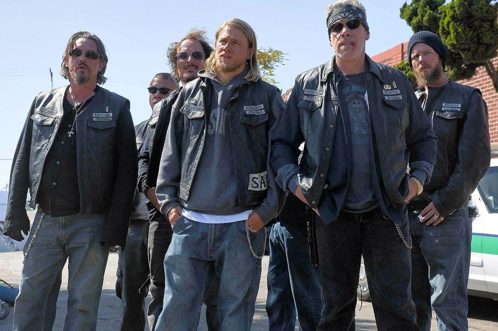 Captura de los Sons of Anarchy.