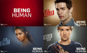 being human syfy posters