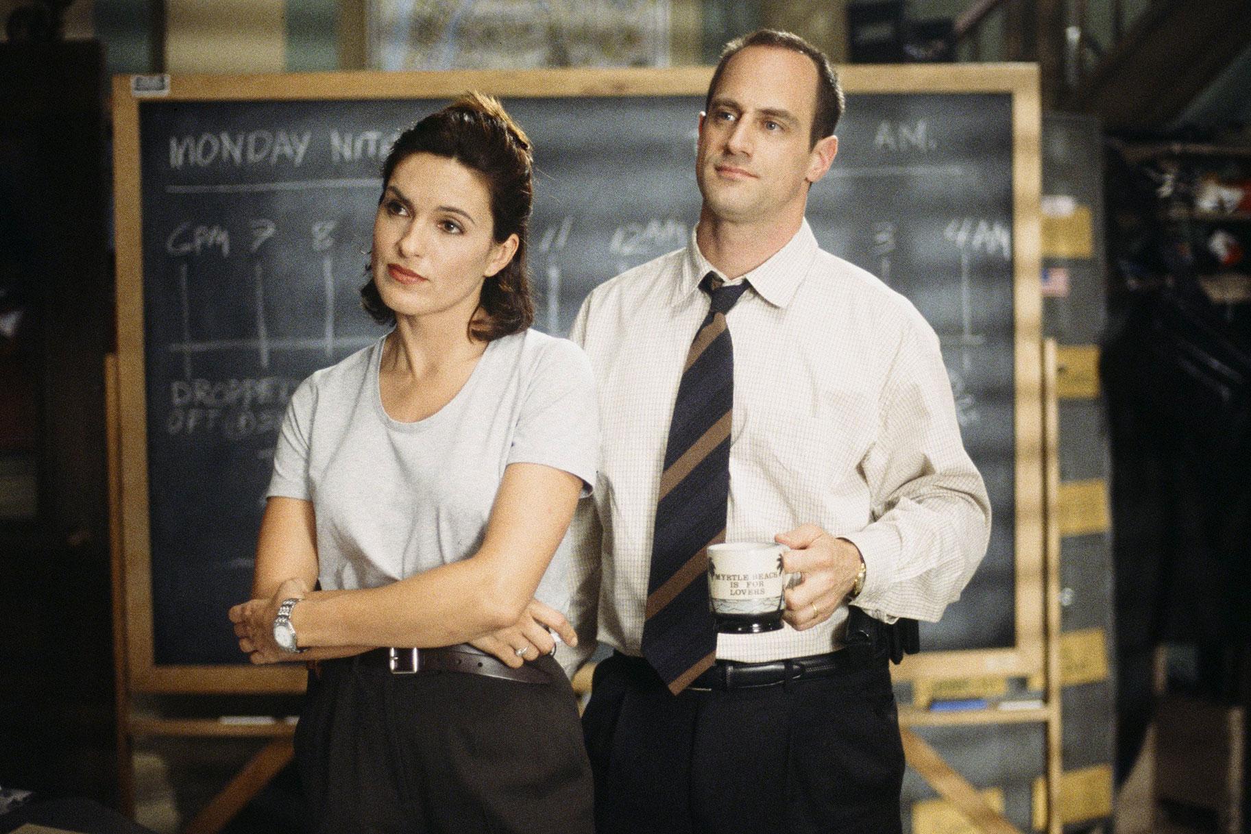 Una pareja (casi) de hecho: Olivia Benson & Elliot Stabler ...
