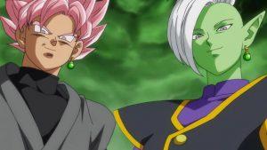 Black Goku y Zamasu