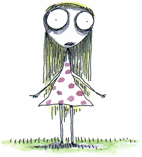 Staring Girl, de Tim Burton.