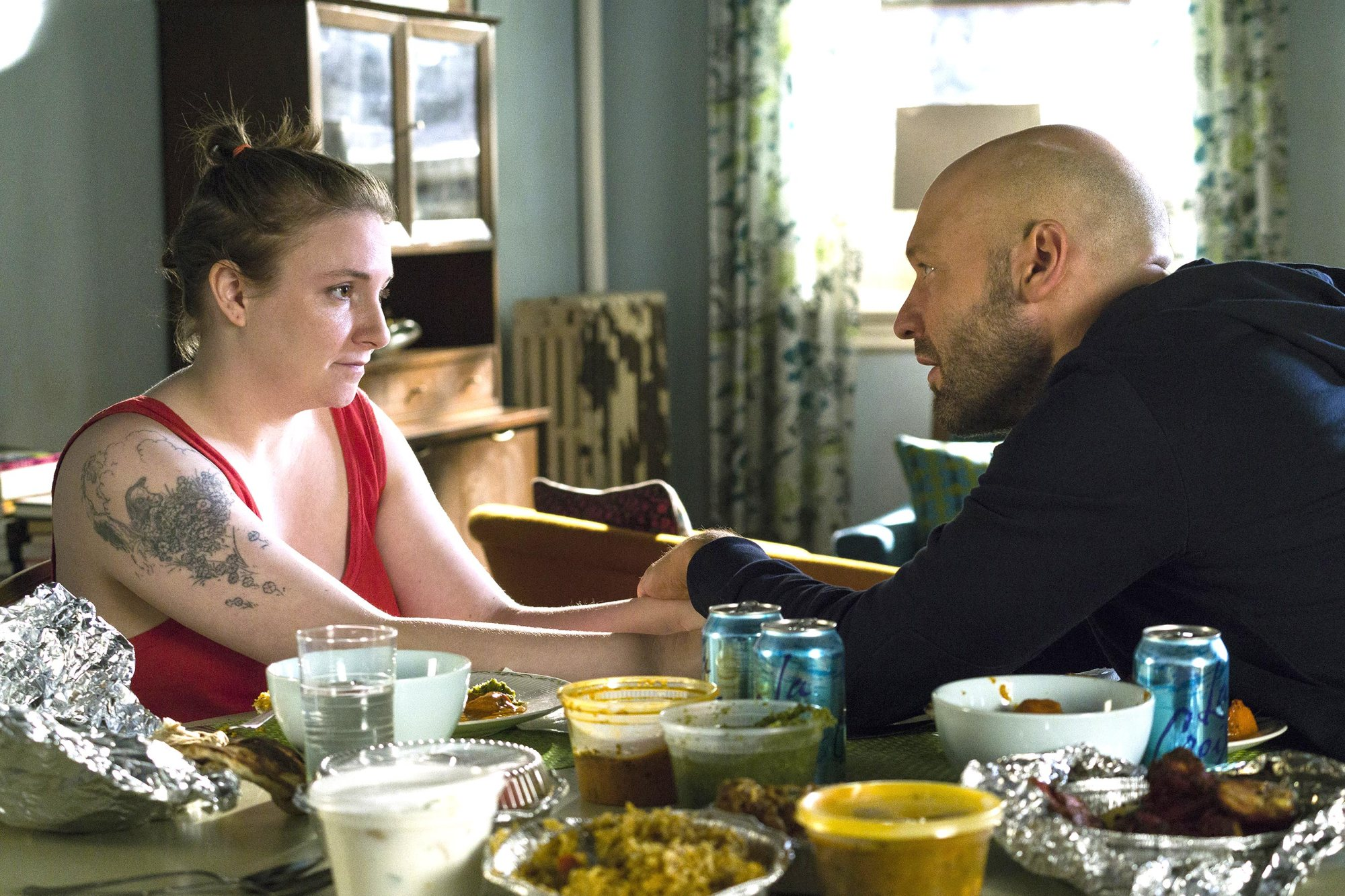 GIRLS, Season 6, Episode 7: Debut 3/26/17 Episode 58 (season 6, episode 7), debut 3/26/17: Lena Dunham, Corey Stoll. photo: Mark Schafer