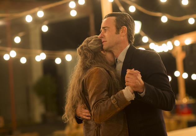El reencuentro entre Kevin y Nora tiene lugar muchos años más tarde.