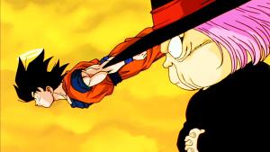 Goku y Uranai Baba