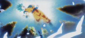 Goku en modo Blue