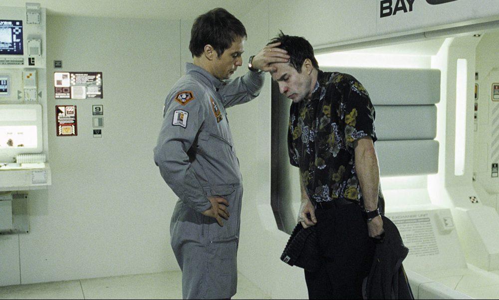 Sam Rockwell se desdobla para su papel como Sam Bell en Moon