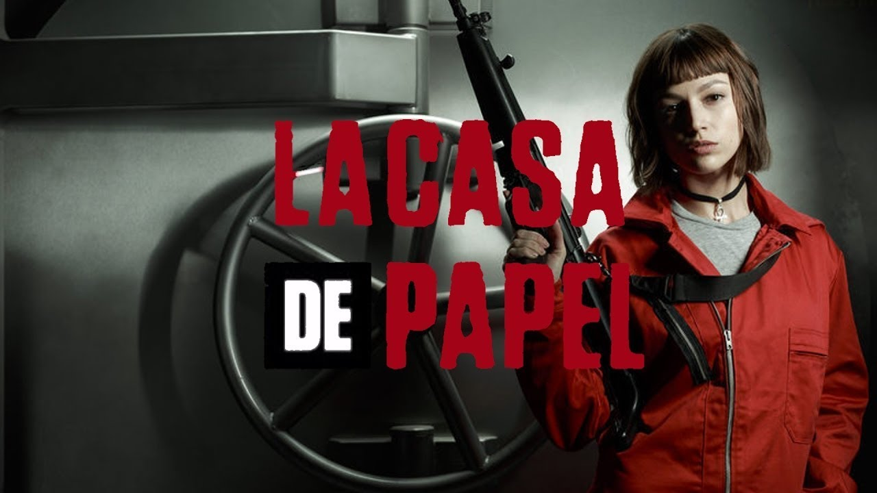 La casa de papel 1x10 Espa&ntildeol Disponible