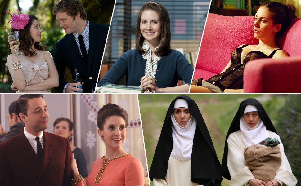 Alison Brie en los papeles más importantes de su carrera