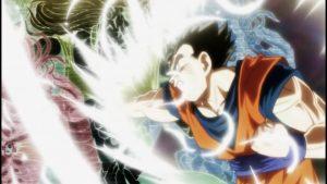 El hijo de Son Goku en acción una vez más