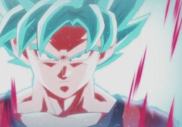 Goku se ve forzado a usar el Super Saiyan Blue con el Kaioken x20