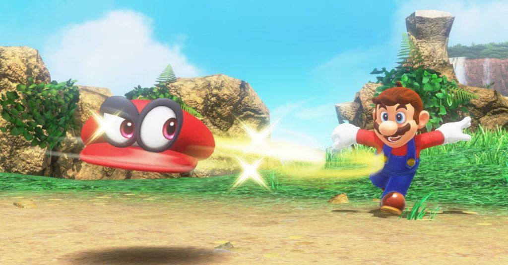 En esta ocasión Mario contará con la inestimable colaboración de la gorra Cappy.