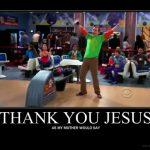 The Big Bang Theory y las religiones
