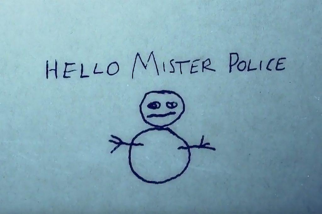 El muñeco de nieve es el icono escogido por el asesino para representarle.