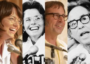 BATTLE OF THE SEXES-actores y reales