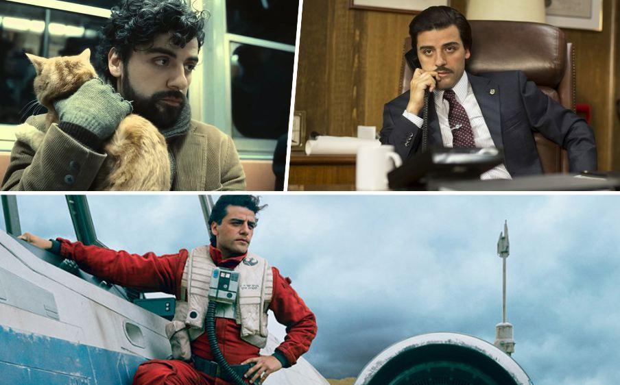 Isaac como Llewyn Davies, Nick Wasicsko (Show Me a Hero) y Poe Dameron (Star Wars)