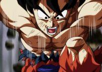 Son Goku durante el capítulo 131