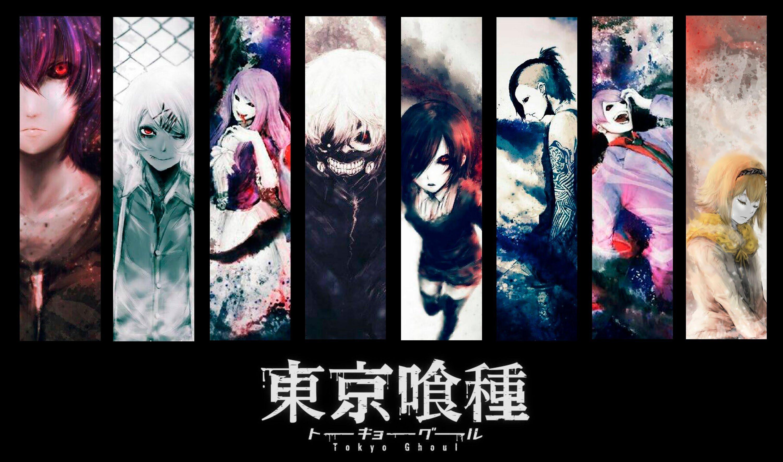 Varios de los personajes secundarios que acompañarán a Kaneki en Tokyo Ghoul