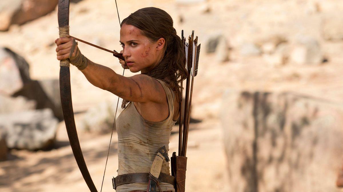 Alicia Vikander se transforma en Lara Croft para este nuevo reboot de la saga