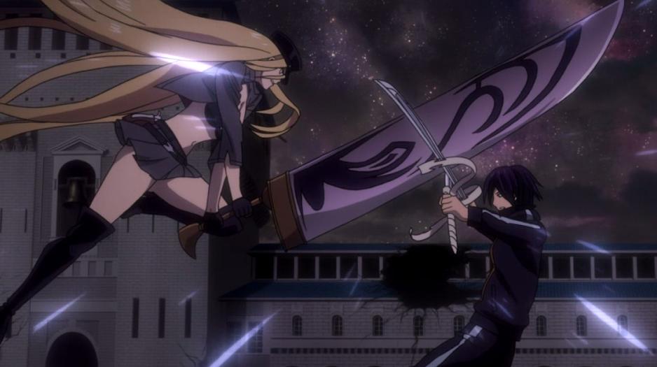 Bishamon y Yato se enfrentan en Takamagahara, el reino de los Dioses