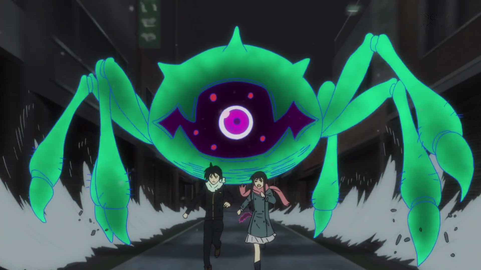 Yato_and_Hiyori_being_chased