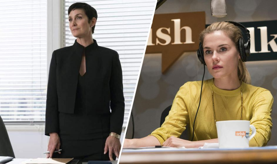 Jeri Hogarth (izquierda) y Trish Walker (derecha) también formarán parte activa de la serie