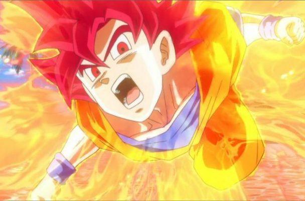 Son Goku en su modo God