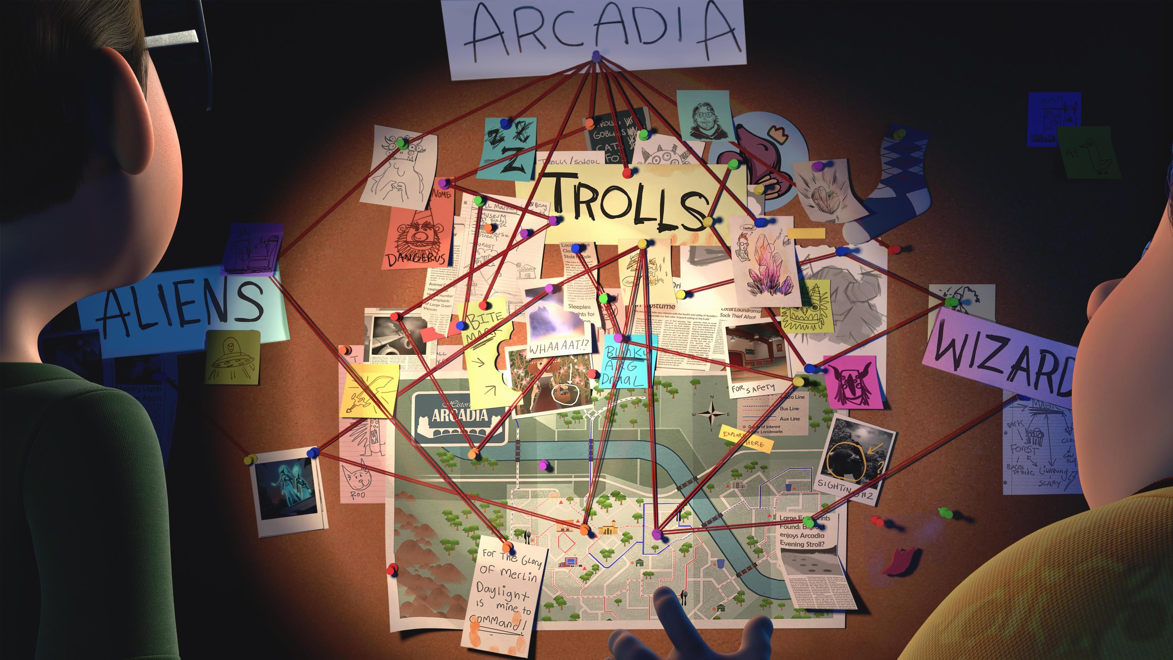 """El """"universo de Arcadia"""" comprende las series Trollhunters, 3Bellow y Wizards"""