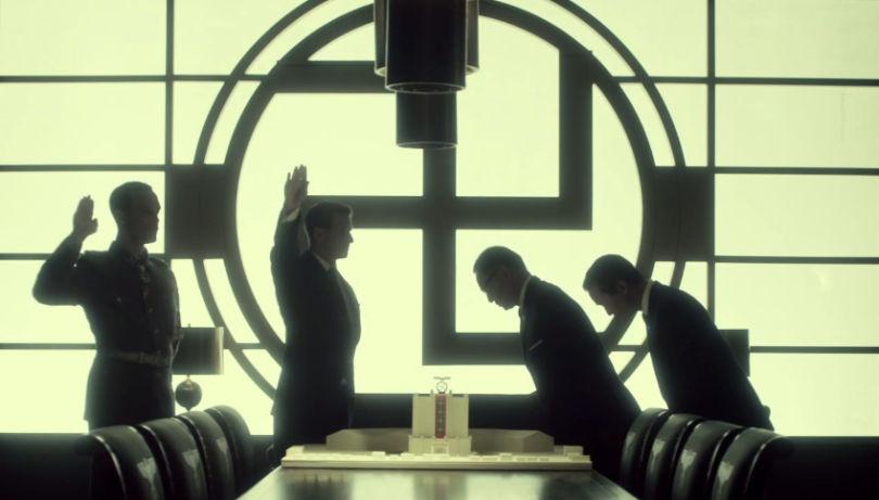La imagen más icónica de la serie y de su estética híbrida